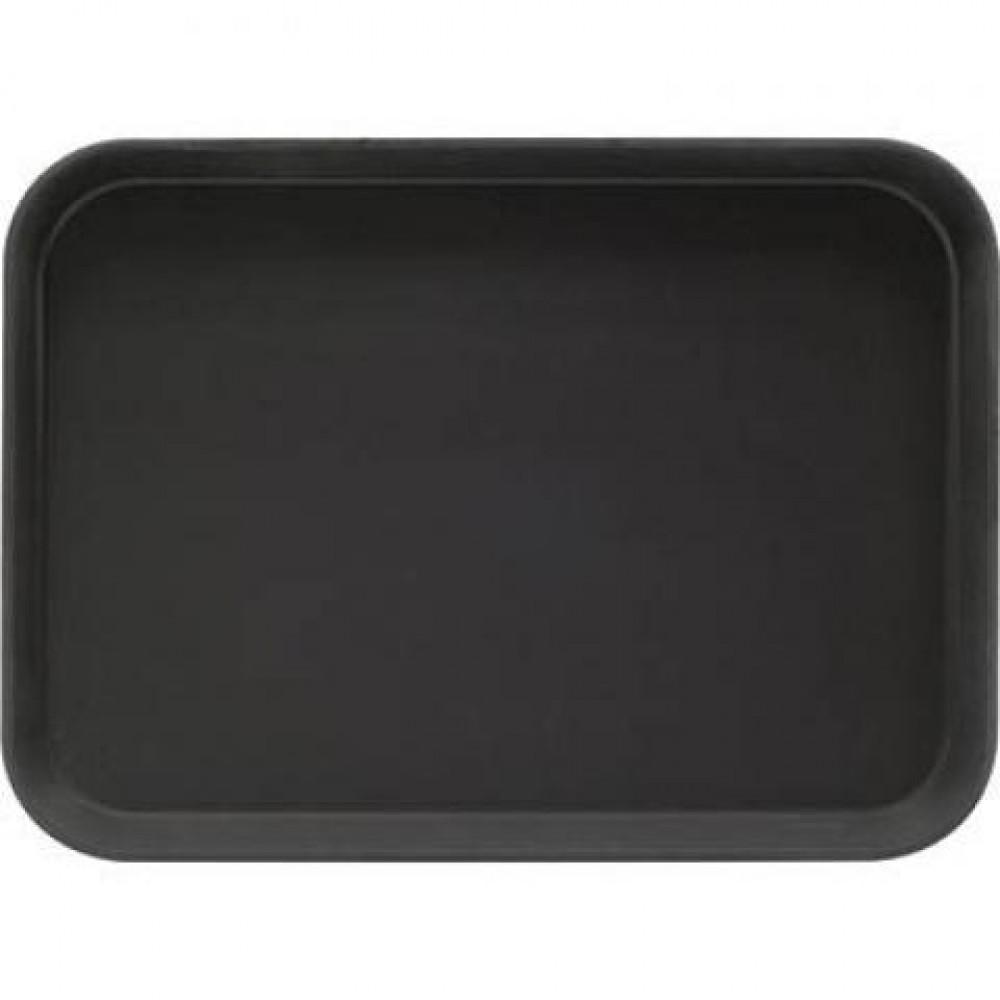 Tava neagra dreptunghiulara pentru servire 56x40 cm