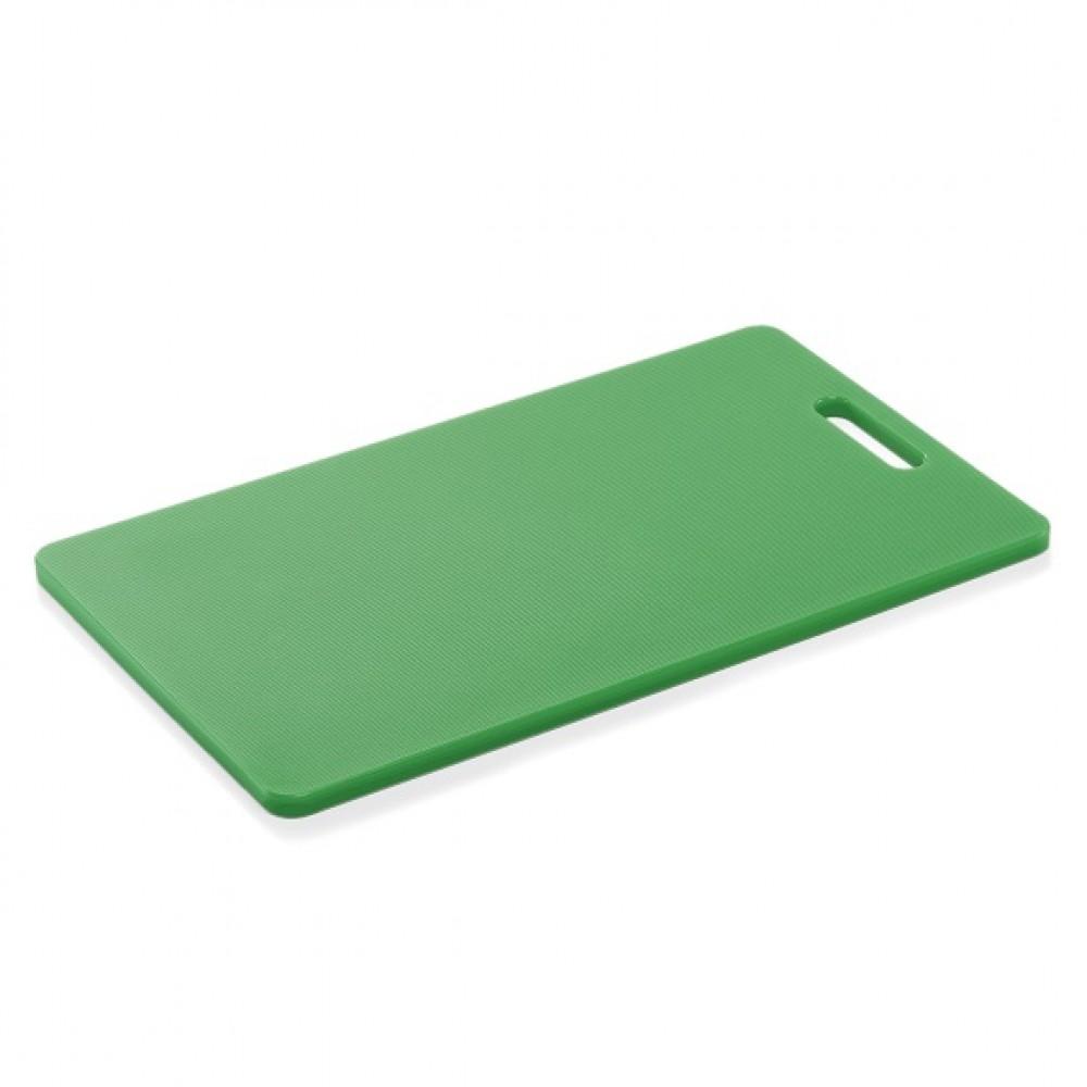 Tocator, blat, polietilena, profesional, Verde, HACCP, 40x25xH1.2 cm