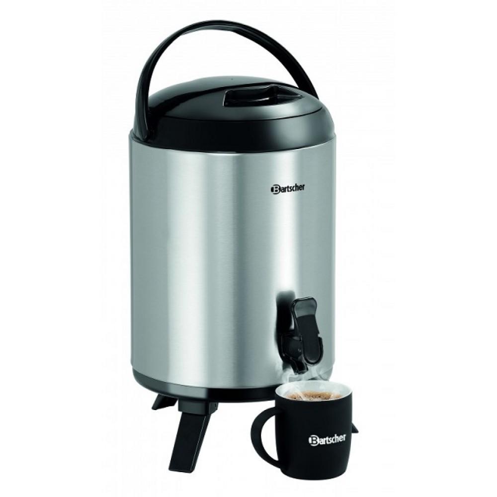 Dispenser bauturi calde, reci, 9 litri pentru mic dejun, bufet