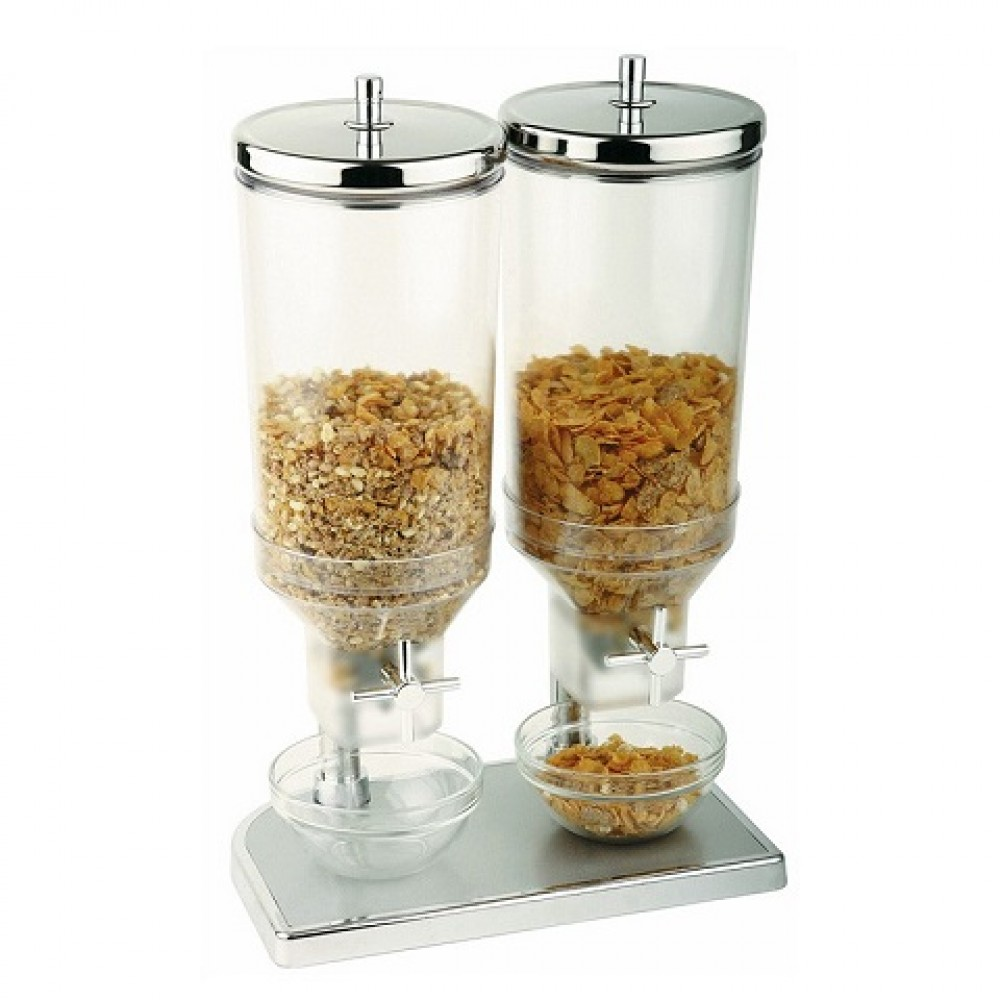 Dispenser cereale dublu 2 x 4.5 litri