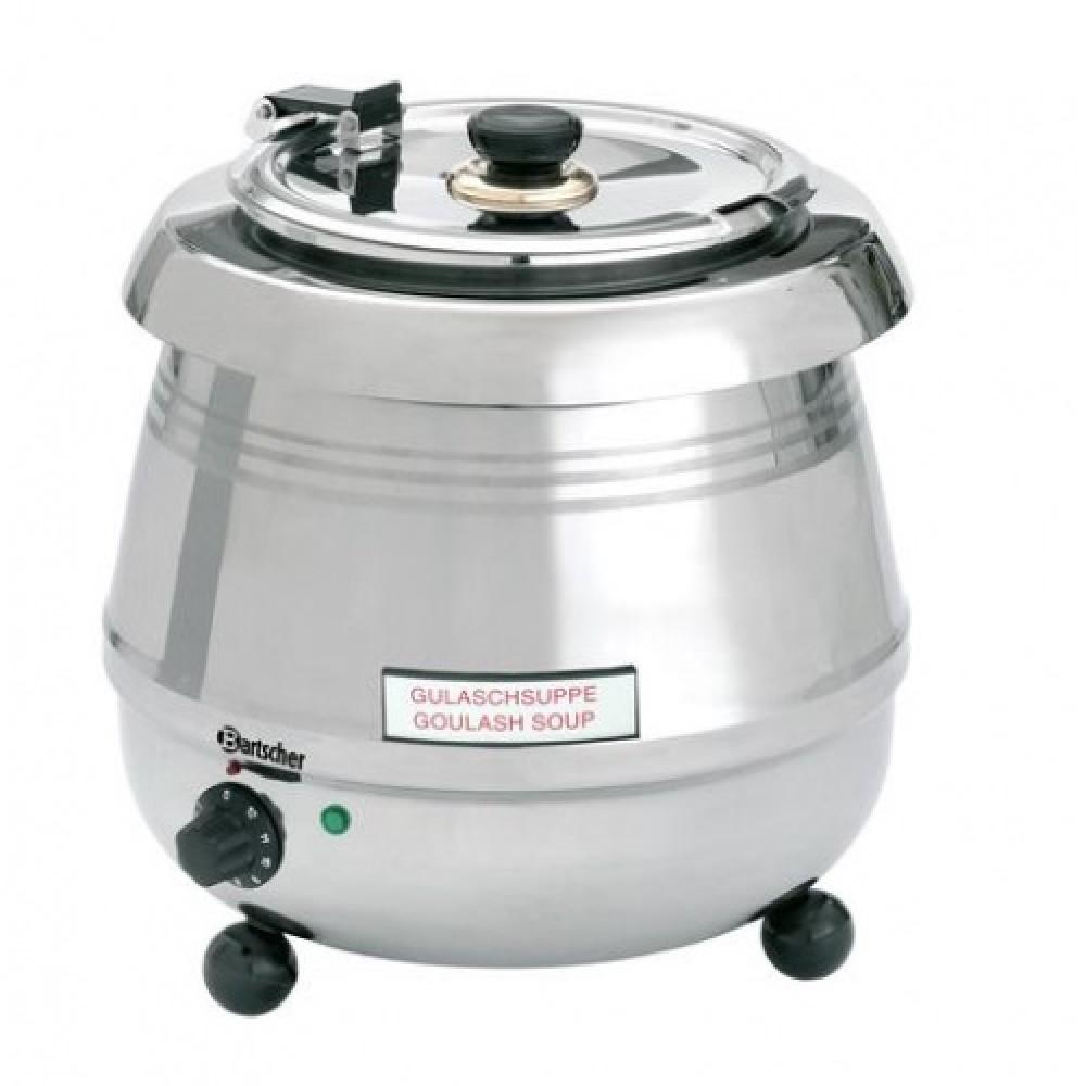 Supiera electrica, inox, profesionala, 9 litri, Putere: 400 W, 340xH 370 mm