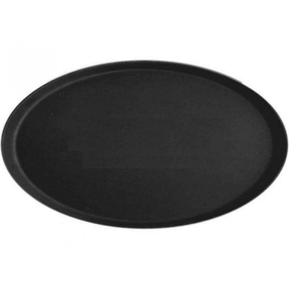 Tava neagra ovala pentru servire 73,5X60 cm