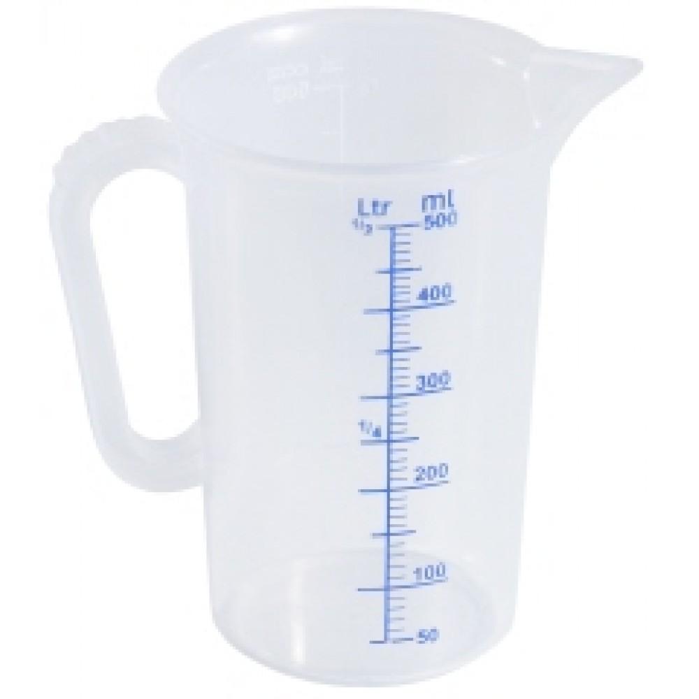 Cana gradata din polipropilena 2 litri